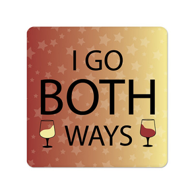 Fridge Magnet Square - Both Ways